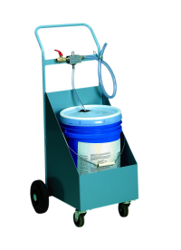 With the Nimatic Mixer Trolley you have the all-in-one solution - the Nimatic Emulsion Mixer and the additive liquid placed on a smooth-running trolley